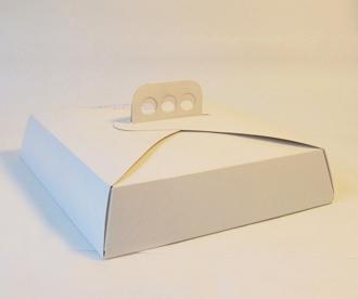 Caja de torta 27x27x6