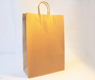 Bolsa de papel con manija