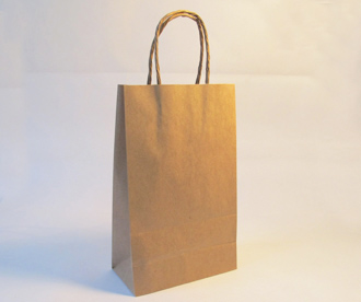Bolsa de papel con manija IV