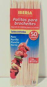 Palitos para brochettes