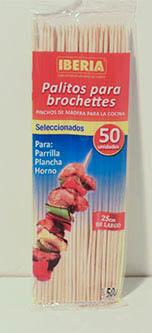 Palitos para Brochete