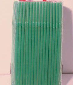 Sorbete de plástico verde x500