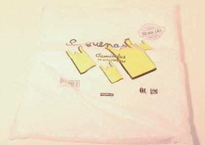 bolsas camiseta 60x80 x100u