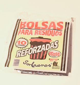 bolsas para residuoreforzadas 45x60 x10u