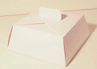 caja para torta baja 24 x10