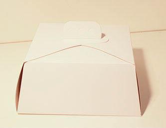 caja para torta baja 30 x30x10