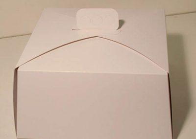 Caja de torta 30x30x30